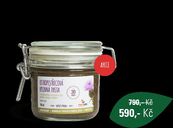 Ostropestřecová bylinná pasta 200 ml
