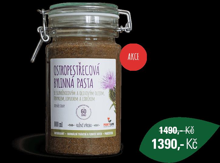 Ostropestřecová bylinná pasta 800 ml
