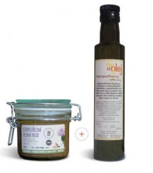 Ostropestřecová FOXYLIFE FORTE  pasta 200ml+ostropestřecový olej 250ml