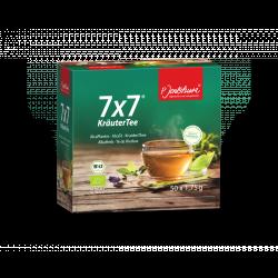 P. Jentschura 7x7 KräuterTee - bylinný čaj BIO porcovaný 100 sáčků