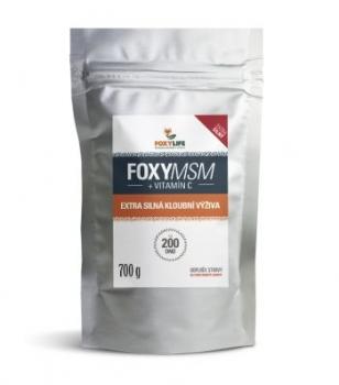 FOXYMSM + Vitamín C 700 g