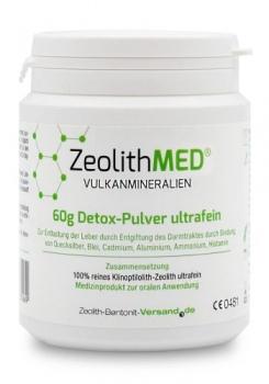 Zeolith MED® 60g ultra jemný prášek