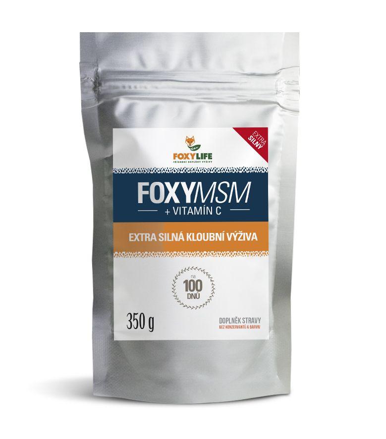 FOXYMSM + Vitamín C 350 g