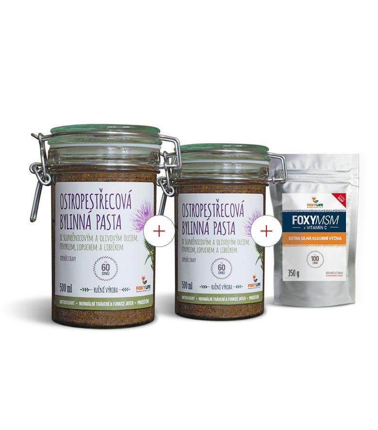 Ostropestřec mariánský- 100% bylinná pasta 200 ml
