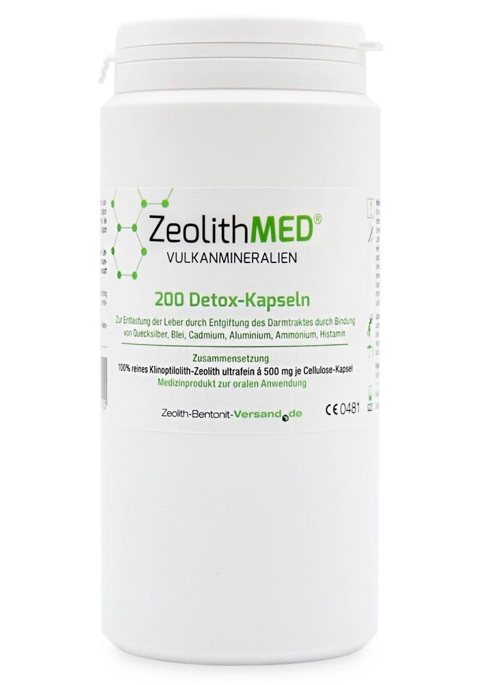 Zeolith MED® 200 kapslí ultra jemný prášek